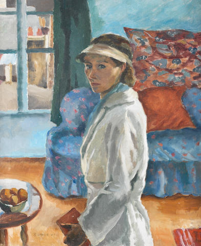 Maud Frances Eyston Sumner (South African, 1902-1985) 'The Painter' (Self Portrait, Paris)