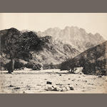 SINAI FRITH (FRANCIS) Mount Serbal from the Wadi Ferjan, 1858