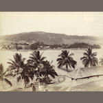 ANDAMAN ISLANDS A view on Chatham Island and a view of Ross Island, [c.1885] (2)