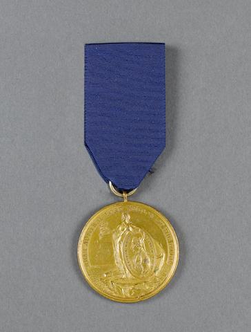 Alexander Davison's Nile Medal 1798,