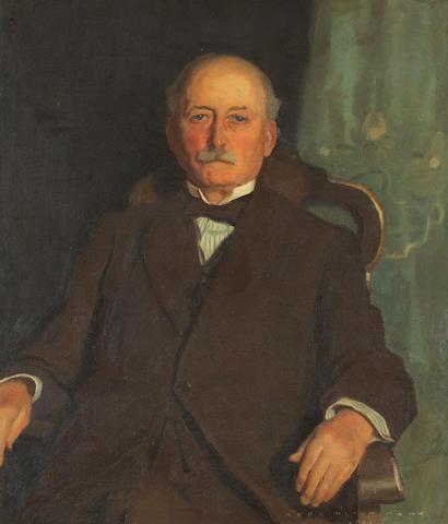 Harrington Mann (British, 1864-1937) Sir Robert McAlpine