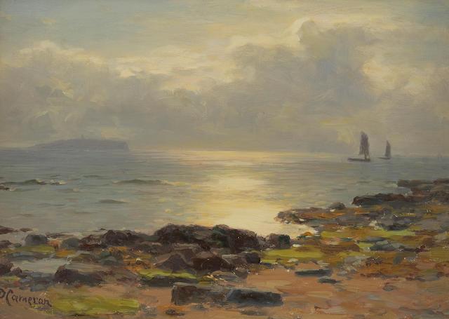 Duncan Cameron (British, 1837-1916) 'A sunny day near Crail'