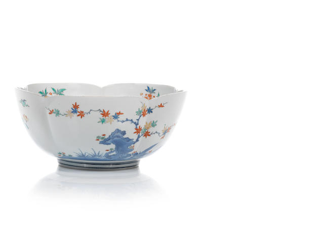 A fine large Kakiemon bowl Late 17th/early 18th century