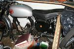 1957 BSA Goldstar Rolling Chassis