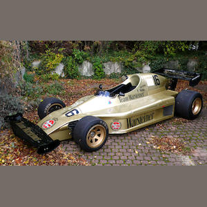1976 TOJ-BMW F201 Formula 2 Racing Single-Seater  Chassis no. 201-02/76