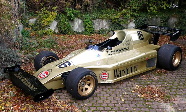 1976 TOJ-BMW F201 Formula 2 Racing Single-Seater  Chassis no. 201-02/76