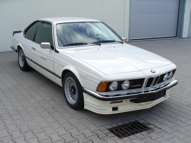 1985 BMW Alpina B7 Turbo Coupé  Chassis no. B720027