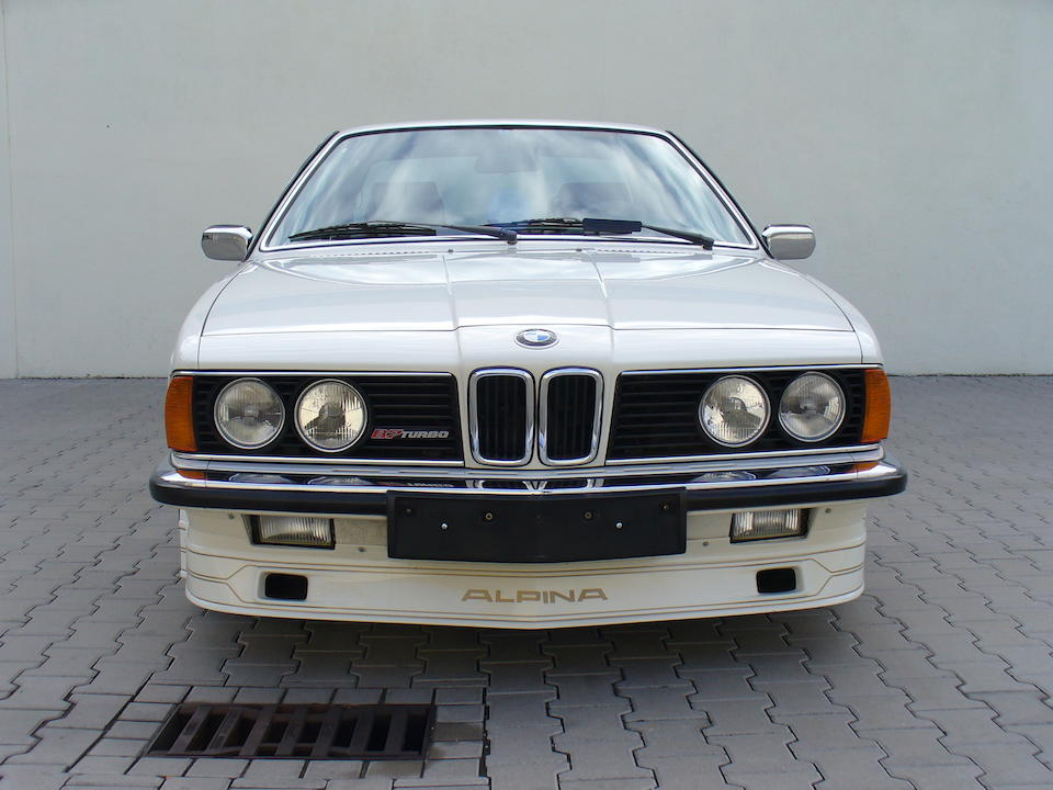 The 27th of 120 built,1985 BMW Alpina B7 Turbo Coupé  Chassis no. WAPB7TC014B720027