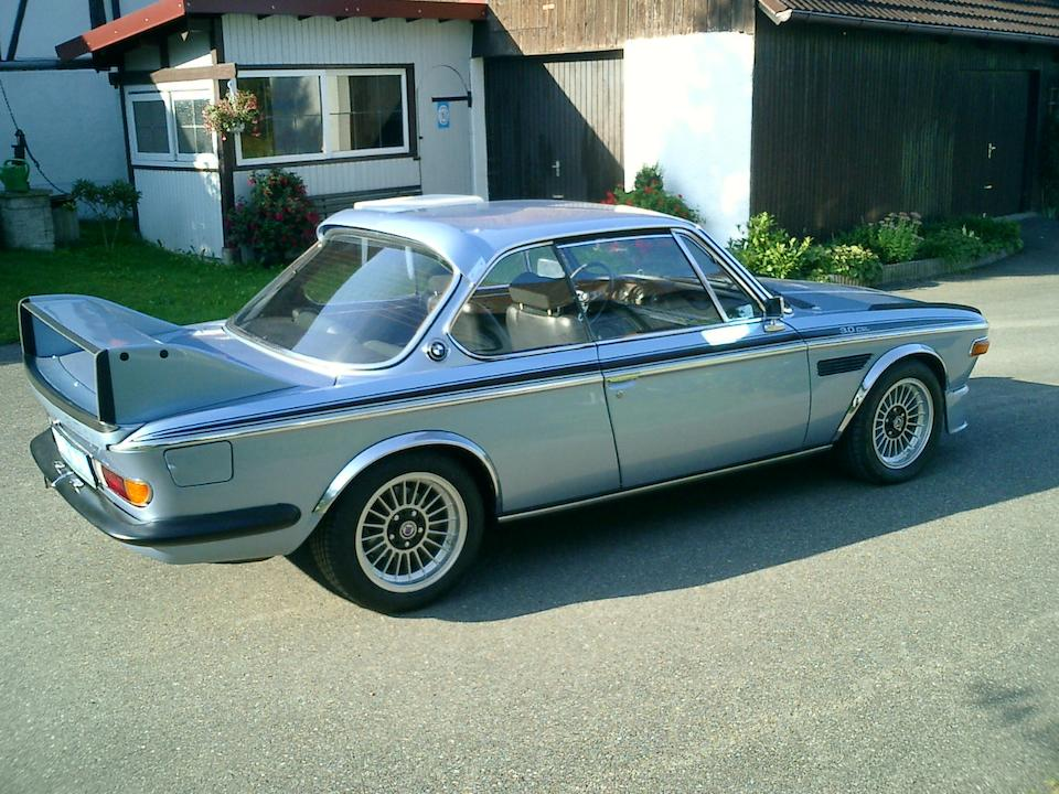 1974 BMW '3.2' CSL 'Batmobile' Coupé  Chassis no. 4355028