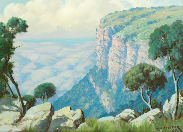 Willem Hermanus Coetzer (South African, 1900-1983) Oribi Gorge