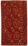 A Tekke chuval, West Turkestan, circa 1880, 4 ft 3 in x 2 ft 7 in (130 x 78 cm)some minor wear