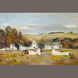 Errol Stephen Boyley (South African, 1918-2007) A Cape homestead