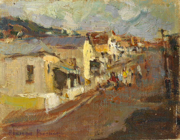 Adriaan Hendrik Boshoff (South African, 1935-2007) District Six