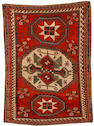 A Lori Pambak Kazak rug Central Caucasus, 8 ft 1 in x 5 ft 9 in (247 x 175 cm) minor scattered repiling