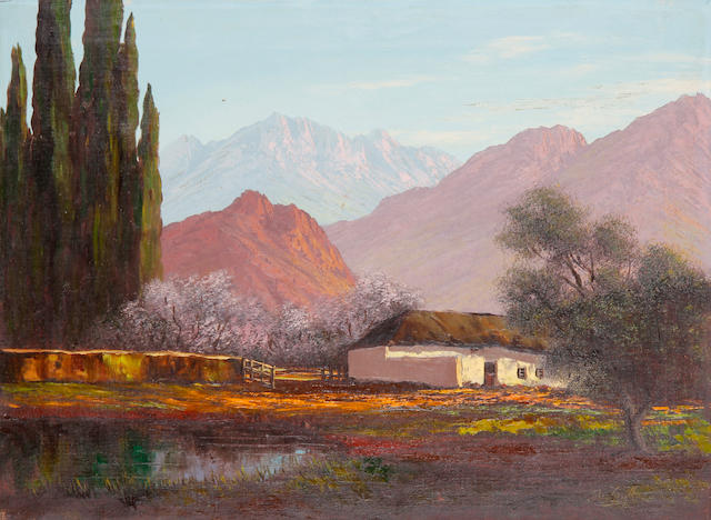 Johan Greeff (20th Century) A homestead in South Africa