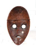 A Dan Gunyega mask Liberia 23.5cm