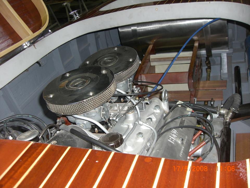 The ex-Helm Gloeckler,1958 Abbate-BMW Sportsboat