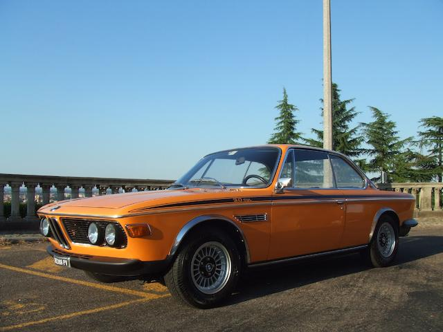 1972 BMW 3.0 Litre CSL  Chassis no. 2212314 Engine no. 2212314