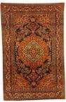 An Isfahan rug, Central Persia, 7 ft x 4 ft 7 in (214 x 141 cm) good condition throughout