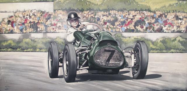Tony Upson, 'Racing Scene',
