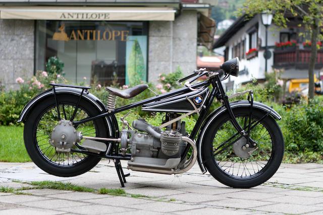 1926 BMW 494cc R42 Frame no. 10383 Engine no. 45836