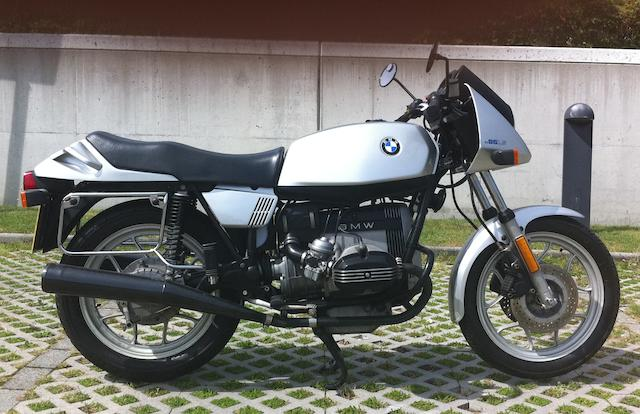 1982 BMW 649cc R65LS Frame no. 6353239 Engine no. 6353239