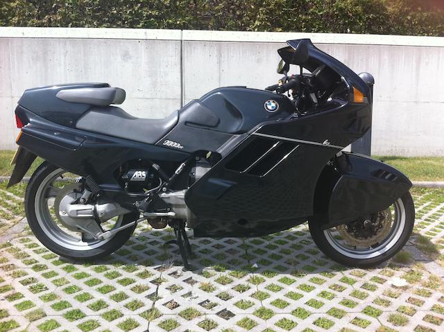 1992 BMW 980cc K1 Frame no. 6377151 Engine no. 50902159