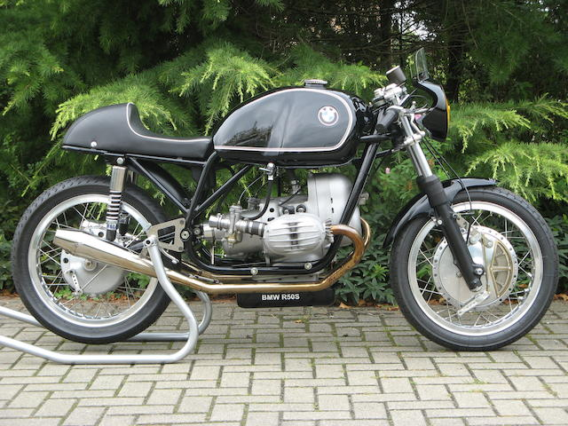 BMW 490cc R50S Classic Racing Motorcycle
