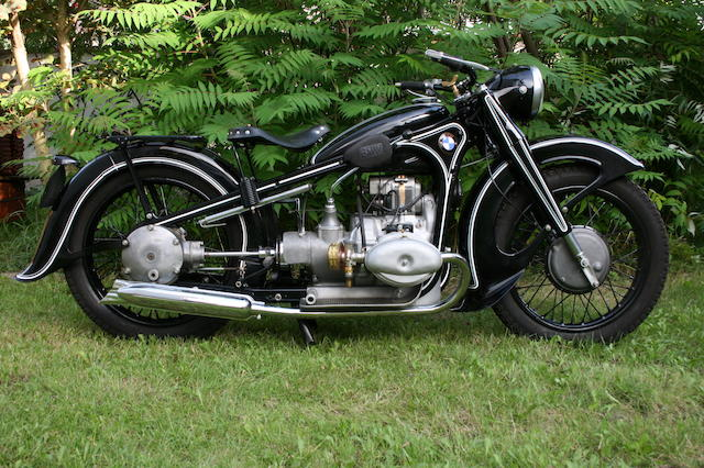 1936 BMW 735cc R17 Frame no. P6397 Engine no. 76894