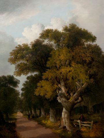 John Berney Ladbrooke (British, 1803-1879) Landscape