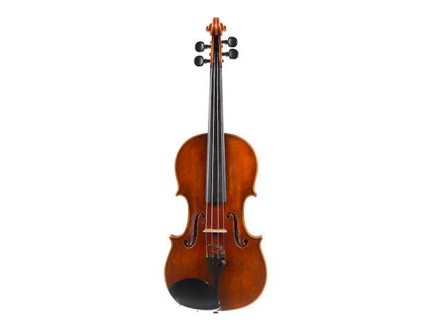 An Italian Violin by Giovani Batista Morassi, Cremona, 1979 (2)