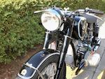 1952 BMW 594cc R68  Frame no. 650062 Engine no. 650062