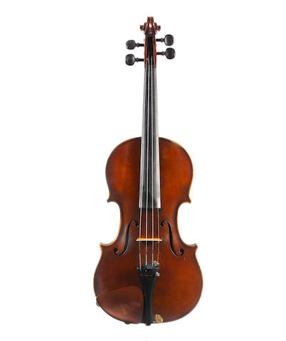 An English Violin by Albert Coad, Penzance, 1937 (1)
