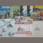"A Post-War Vincent HRD Rapide 'The ""Little"" Big Twin' promotional brochure, 1945,"