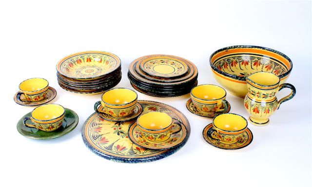 A small quantity of Quimper pottery Late 19th/early 20th century