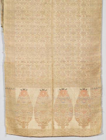 A Safavid silk Sash