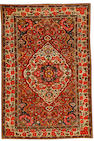 A Bakhtiar rug, West Persia, circa 1910, 6 ft 10 in x 4 ft 6 in (208 x 136 cm) excellent condition