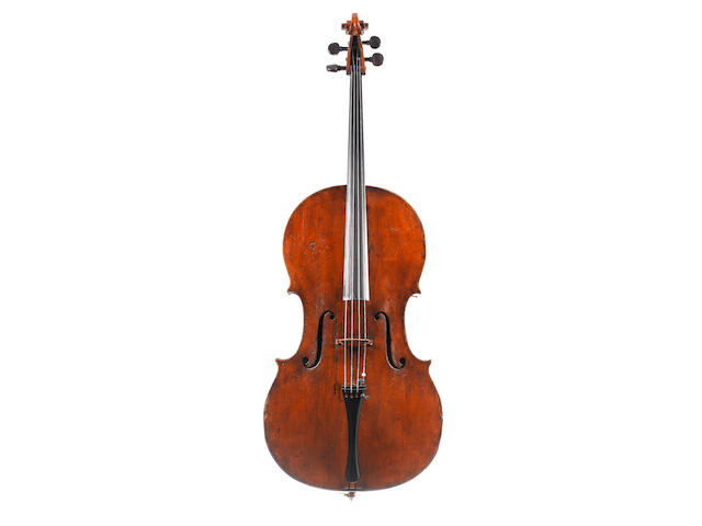 An English Cello of the Kennedy School circa 1820 (1)