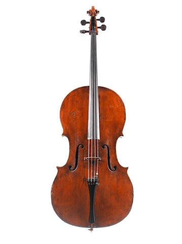 An English Cello of the Kennedy School circa 1820 (1)