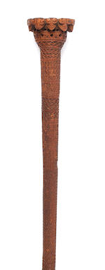 An Austral Islands paddle 99cm long