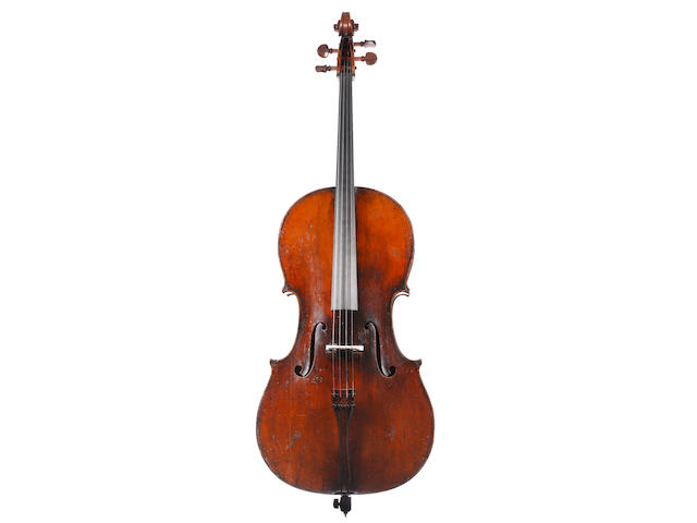 An interesting Cello of the D'Espine, Turin School circa 1850 (2)