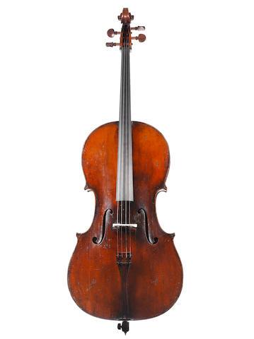 An interesting Cello of the D'Espine, Turin School circa 1850 (2)
