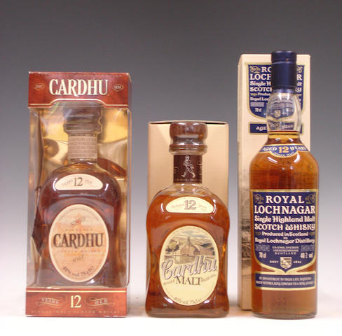 Cardhu-12 year old (2)   Royal Lochnagar-12 year old