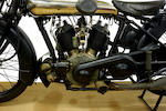 Probably the most original example surviving,1924 Brough Superior 988cc SS80 Frame no. 127 Engine no. KTC/U 17343/SY