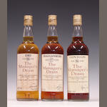 Ord-16 year oldCragganmore-17 year oldGlen Elgin-16 year old