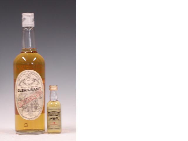 Glen Grant-25 year oldGlenturret-12 year old (miniature)