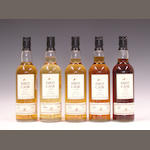 Balblair-22 year old-1975Glentauchers-24 year old-1976Blair Athol-26 year old-1976Glenlivet-24 year old-1976Glen Grant-24 year old-1976