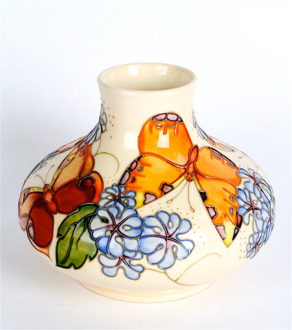 A contemporary Moorcroft vase