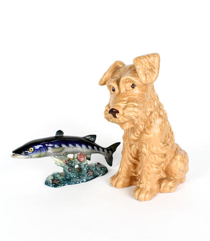 A Beswick Barracuda
