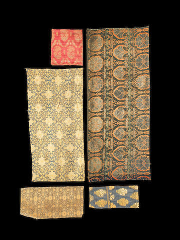 A study collection of Safavid and Qajar textile fragments Persia, 17th-19th Century(45)